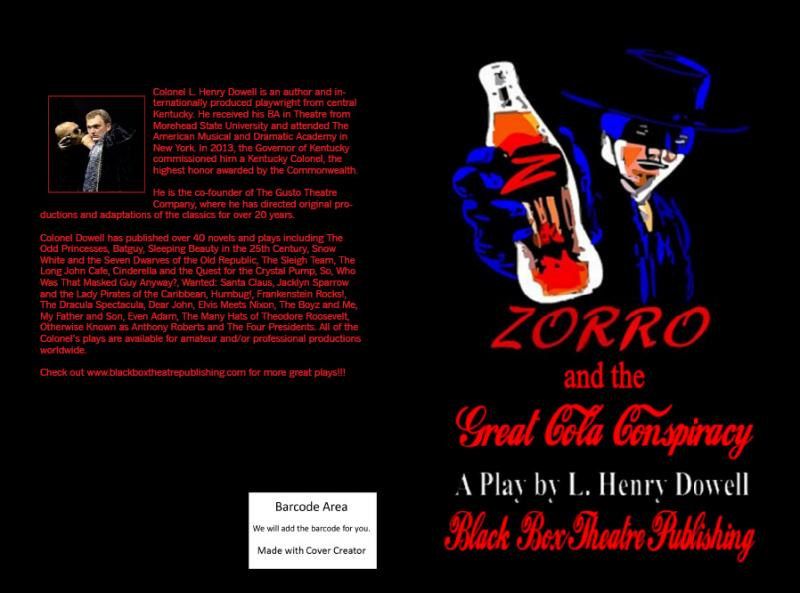 Zorro and the Great Cola Conspiracy